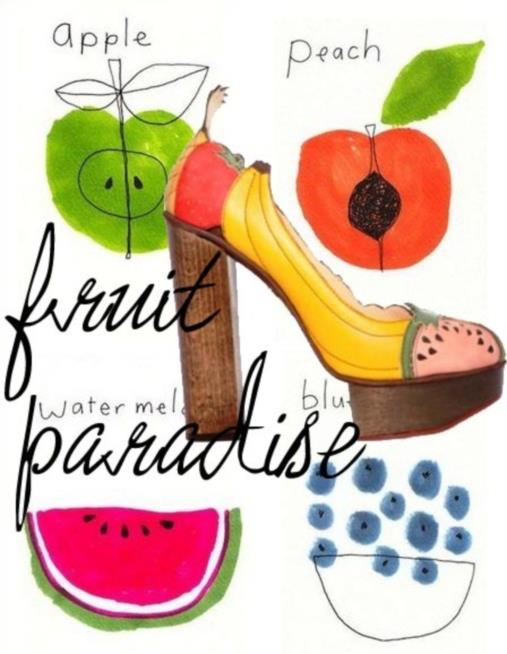 Key fashion trends of the season Fruit accessories 2